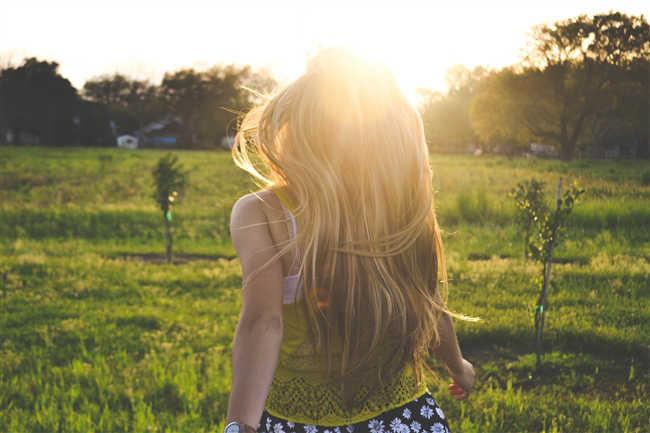 紫外線が髪に与える影響