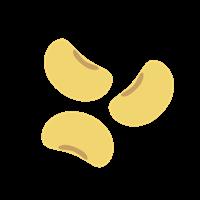 大豆には大豆イソフラボンが豊富で女性ホルモンのような働きをする